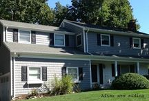 Home exteriors and siding / Wood and vinyl siding