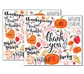 Thanksgiving Laminating Ideas / Laminating ideas to make the holiday more festive for you and your family.