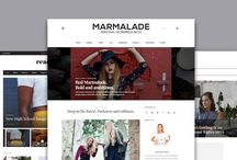 Fashion WordPress Themes / My collection with themes for Fashion Blogs!