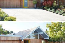 Das Mitte Jahrhundert Modern Eichler Haus In Kalifornien Hat Eine Zeitgenössische Gestalten