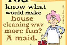 Aunty Acid humour