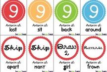 Vocabulary / www.speaklistenplay.com