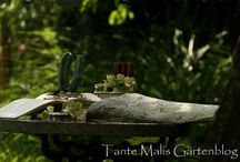 Gartenblog / Dekoideen rund um den Garten Garden decorations DIY