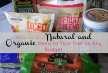 Organic/natural foods / by Ashley Pettigrew
