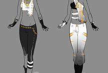 Costume designs ๏