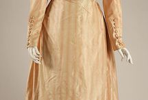 1820s Gowns and Gentleman's Attire