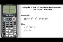 TI-84 Graphing Calculator Tutorials & Activities