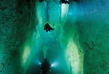Cave Diving - Immersioni in Grotta / Caverns, caves, scuba diving, full cave diving, tek diving, cenotes. A whole world to descover.