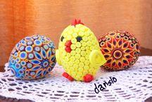Ouă -quilling