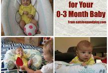 0-3 months activities