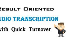 Result Oriented Audio Transcription with Quick Turnover