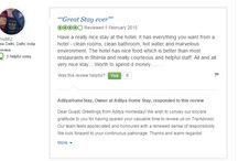 Aditya Home Stay Reviews / Some of our guest's reviews...