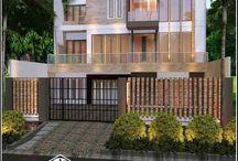 Jasa Arsitek Rumah Di Jakarta Desain Rumah Bapak Rulian / Desain Rumah