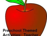 Teacher Preschool Theme / A Community Helper Teacher Preschool Theme http://www.preschool-plan-it.com/community-helpers-teacher.html