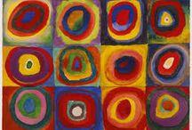 kandinsky colour theory paintings