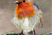 ζωγραφικη πουλια