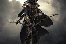 The Elder Scrolls Skyrim / Przygody Neny Pierayl Lortocque w krainie Skyrim. Czyli Skyrim obrazem malowane.