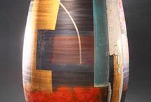 Kleuren vaas