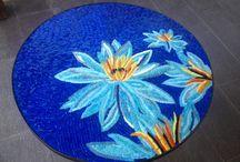 Mis trabajos en mosaico / Mosaicos