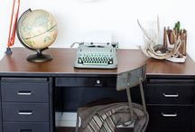 Tanker desks / by Lesley Weidenbener