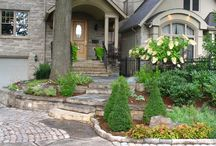 Curb Appeal / Landscape design for the front of your home.
