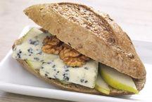 Sandwiches & Bagels aux pommes / Parce que les encas aussi peuvent être bien préparés, choisissez de belles recettes de #sandwiches et de #bagels aux pommes ! De quoi rendre la pause déjeuner un peu plus gourmande :)