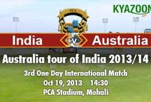 KyaZoonga.com: Buy tickets for 3rd ODI of the Australia tour of India, 2013/14