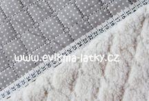 E-shopy / látky - šicí materiál
