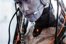 Robots & Alien
