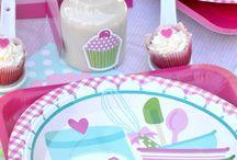Baking Theme Birthday