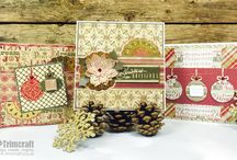 First Edition Jingle All the Way / First Edition Jingle All the Way, designed by Tina Higgins, features beautifully illustrated designs inspired by the luxury of Christmas time. The gold foil designs will add a touch of opulence to your festive crafts.