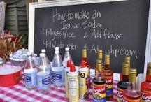 Party Bars & Buffet Ideas / by Devon Nase