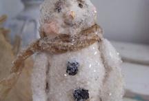 snowmen / by Susan Smith
