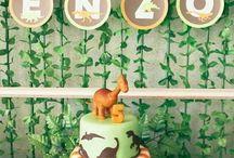 cumpleaños de dinosaurio