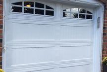 Designer garage door by Empire Overhead Doors inc. / Designer garage door