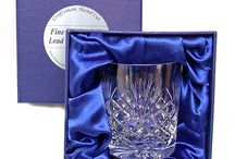 Presentation Boxed Glasses / Some of the Presentation Boxed Glass that can be purchased from http://thegreatgiftshop.co.uk - Most of the glass we sell has been Hand cut by expert craftsman from 24% Lead Crystal Glass.