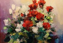 kwiaty zapisane