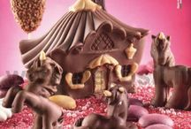 Candy House molds / silicone molds to create Candy Houses #chocolate #チョコレート #cioccolato
