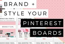 ∆ Branding ∆ / Branding Tips to make sure the look & feel of your website/products represents you perfectly