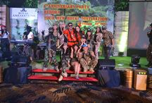 "4th Anniversary Party ""Reborn Your New Royal Destination"" / Celebrating the 4th year with outstanding Army Look"