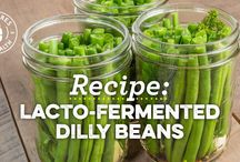 Lacto-Fermented Foods / Foods preserved using Lacto-Fermentation