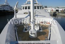 Interior Yacht Refinishing / This Board is dedicated to Interior and Exterior Yacht refinishing as Boat Painting