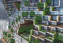 Architektur und Einrichtung