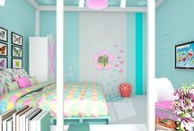 Girls' Bedroom / All Ideas About Girls Bedroom ==================================================================== If you would like TO JOIN:  1) Follow my account .  2) Send me a message.  No Price Tags, No Spam, No Recipes.