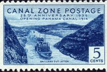 Canal Zone Stamps
