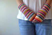 Crochet gloves  / by Grace Konzelman