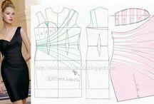 Dress Patterns / Kaavoituksia