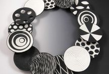 Černobílé šperky a nápady