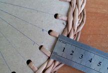крышки для газетных плетенок