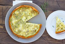 Quiche sweet potato